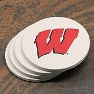 Thirstystone Stoneware Coaster Set, University of Wisconsin