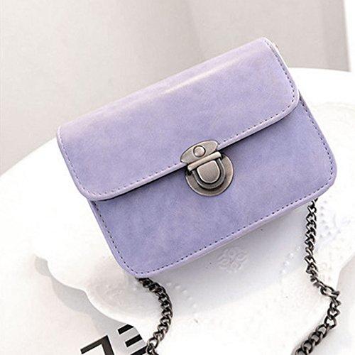 Mode Sac Sacoche Pochette Violet Femme 6cm Chaîne À 16 Épaule Main Bandoulière 11 Noir q4qECWT