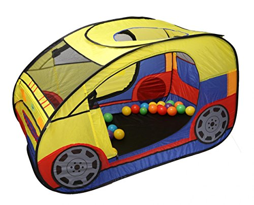TIENO Pop up Car Play Tents for kids Indoor and Outdoor Playhouse Toy House Xmas Gift for Boys