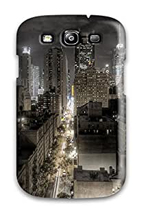 Mark Gsellman Andrews's Shop 2189277K83559284 New Premium Dark Newyork City Skin Case Cover Excellent Fitted For Galaxy S3