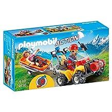 PLAYMOBIL 9130 Mountain Rescue Quad