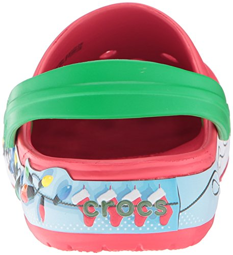 Holiday Multicolore Lights Crocband Crocs Mule Unisex Clog HwqfxE1EU