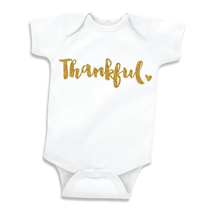 Amazon.com: Thanksgiving Outfit bebé niñas, My First ...