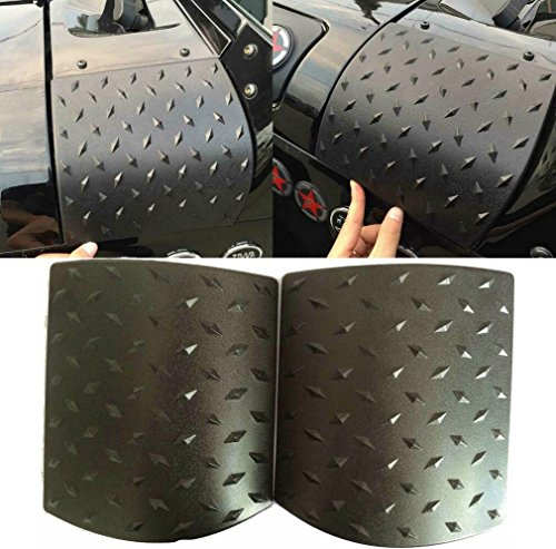 Danti Cowl Body Armor Powder Coated Finish Outer Cowling Cover for Jeep Wrangler JK Rubicon Sahara Sport X & Unlimited 2/4 door 2007-2016 (Latest Upgrade Version)