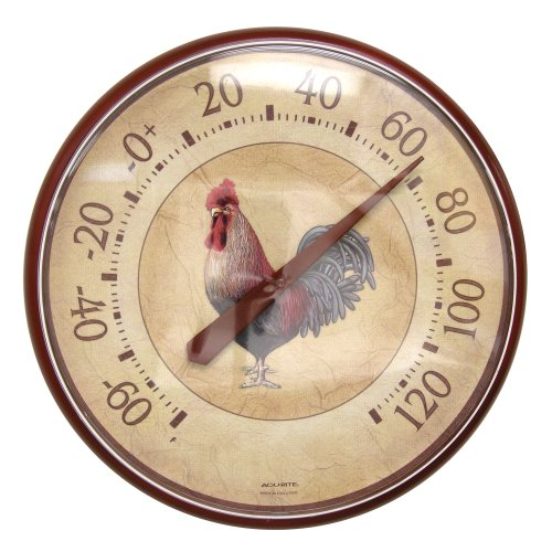 AcuRite 01893 12 5 Inch Thermometer Rooster