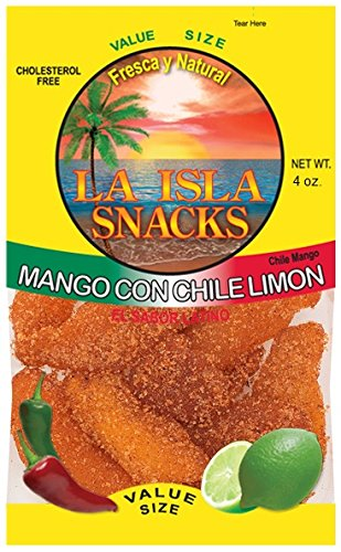 Price comparison product image Island Snacks Chile Mango, 4-Ounce (Pack Of 6)