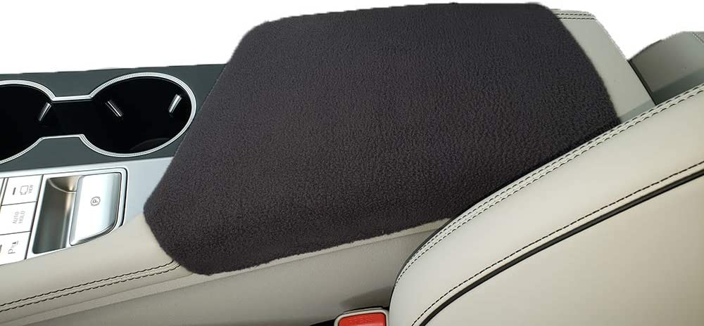 Car Console Covers Plus Fits Genesis G70 2019 Fleece Center Armrest Cover for Center Console Lid Made in USA