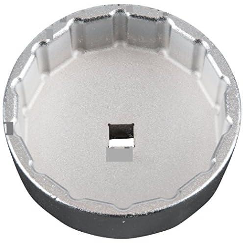 """KS Tools 150.9215 Cloche filtre à huile 3/8"""" 74,2mm 14 pans du coffret 150.9210. durable service"""
