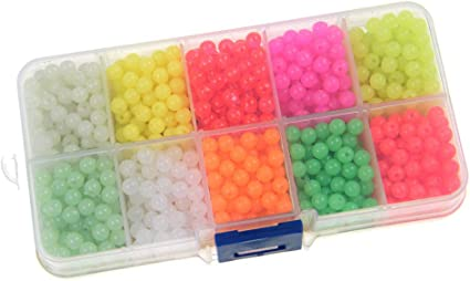 Carp Coarse Pack of 100 Sea Fishing Plastic Rig Beads Mixed or Black
