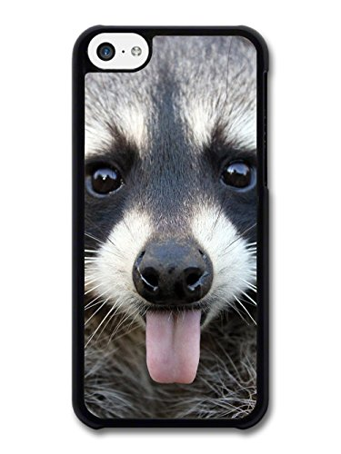 Cool Cute Funny Cheeky Raccoon Photography Wild Animal Nature case for iPhone 5C
