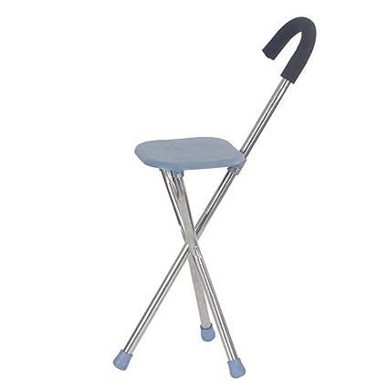 Strange Amazon Com Multi Purpose Folding Walking Stick Stool Pabps2019 Chair Design Images Pabps2019Com