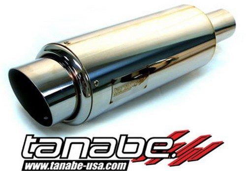 Tanabe TUN301 120mm Diameter/90mm Tip Tuner Medalion Racing Universal Muffler