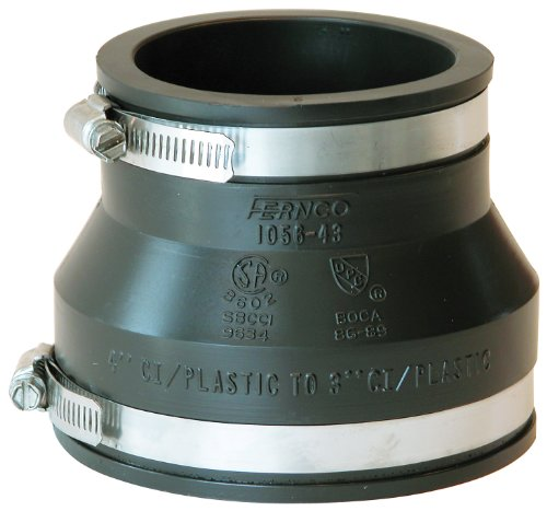 Fernco Inc.P1056-43 4-Inch by 3-Inch Stock Coupling