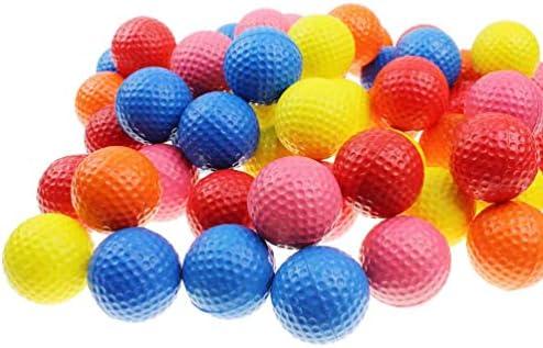 BESPORTBLE 11 STKS Praktijk Schuim Golf Ballen Golf Schuim Spons Zachte Elastische Praktijk Bal Compressie Bal Speelgoed Indoor Outdoor Golf Traning Aids Geassorteerde Kleur
