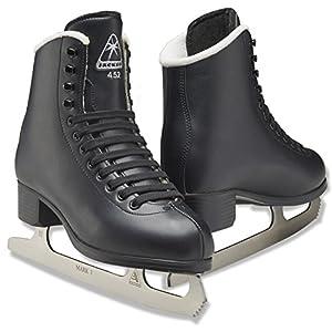 Jackson Ultima Figure Ice Skates for Men, Boys in Black Color