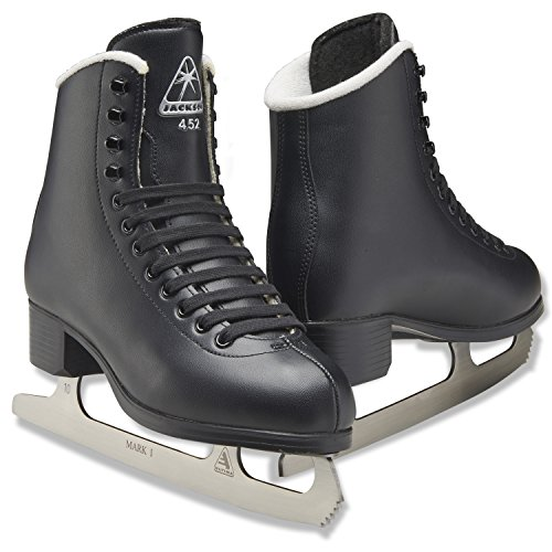 Jackson Ultima JS453 Black Mens Figure Ice Skates for Boys/Size: Junior 1