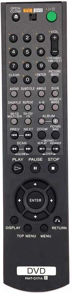 New RMT-D171A Replaced Remote Control fit for Sony DVD Player DVP-NC685V DVP-NC875VS RM-ADU003 DVP-NS775SV DVP-NS75H DVP-NS705V