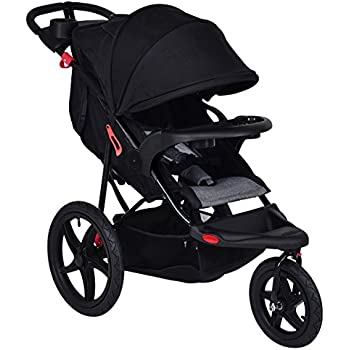 Amazon Com Baby Trend Expedition Jogger Stroller Carbon