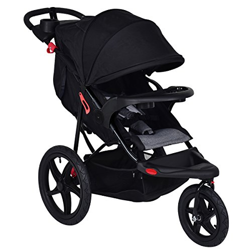 Cheap Costzon Baby Jogger Stroller Lightweight w/Cup Phone Holder (Black)