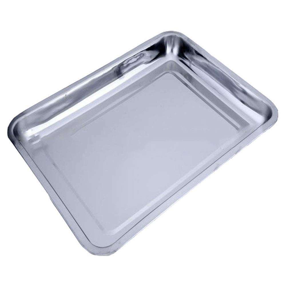 binglinghua 10 piezas bandeja de horno de acero inoxidable ...