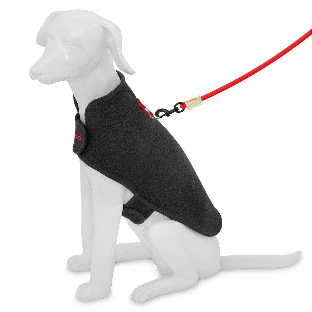 Best Pet Supplies 251-BK-S Voyager Windproof Fleece Pet Jacket, Small, Black by Best Pet Supplies, Inc. (Image #5)