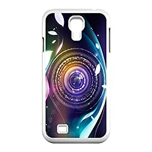 Hard Shell S IV Case- Camera Lens Protective PC Case for Samsung Galaxy S4 I9500 (White 102108)