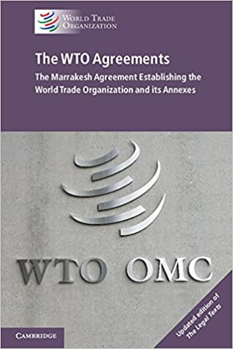 Buy The Wto Agreements The Marrakesh Agreement Establishing The