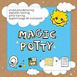 Magic Pot Potty Training Stickers Toilette Propreté multicolores Stickers Baby Entretien–LK de Trend & Style