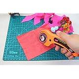 FixtureDisplays Rotary Fabric Carpet Convass Cutting Knife Retractable Blade 13781 13781