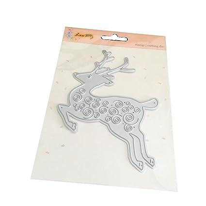 Amazon Com Wocachi Christmas Cutting Dies Card Making Stencils