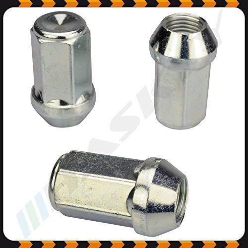 24 Zinco Dado Ruota Dado M14x1 5x41 SW19 Cono Cono 60/° Alluminio Acciaio Cerchioni