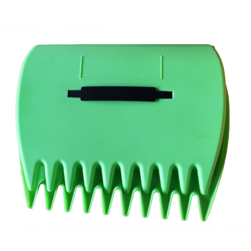 Zmmyr Plastic Garden and Yard Leaf Scoops Hand Rakes Leaf Collector for Garden with Adjustable Handles by Zmmyr