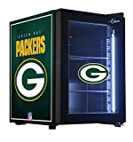 NFL Green Bay Packers Counter Top Refrigerated Beverage Center, 1 cu. ft., Black
