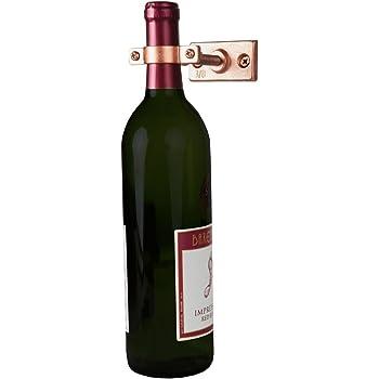 Amazon Com Wall Mount Wine Bottle Holder Single Home