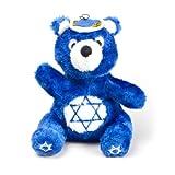 Present Outward Hound Kyjen PP01839 Hanukkah Bear Plush Squeak Toy Dog Toys, Large, Blue ✹