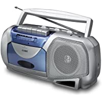 Coby CX144A Portable AM/FM Cassette Player/Recorder