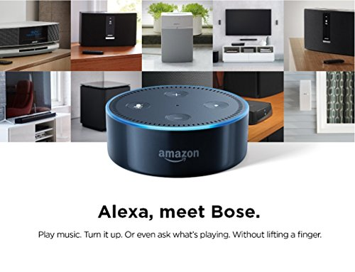 Bose Wave SoundTouch Music System IV, works with Alexa, Espresso Black – 738031-1710