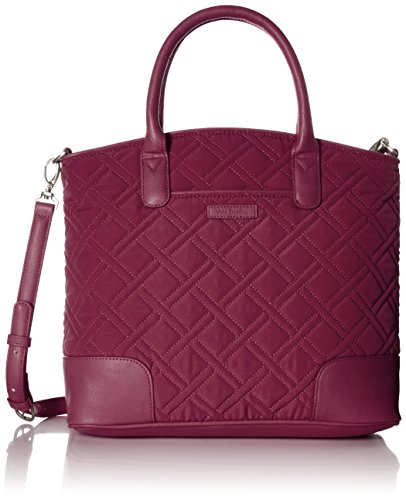 - Vera Bradley Womens' Day Off Satchel, Microfiber, Hawthorn Rose,One Size