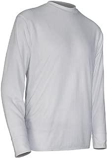 product image for Polarmax Base Layer Basics Long Sleeve Crew Neck Shirt - Kid's White Small
