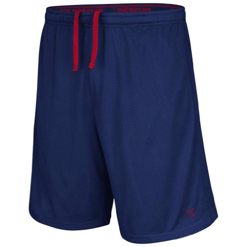 Colosseum Athletic Mesh Basketball Shorts (Navy) - 2XL ()