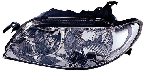 Depo 316-1127L-US1 Mazda Protege Driver Side Replacement Headlight Unit without Bulb (Mazda Protege Body Part)