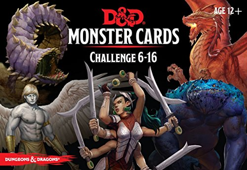 Dungeons & Dragons - Monster Deck 6-16 (74 cards) by Dungeons & Dragons