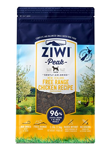Ziwi Peak Air-Dried Free-Range Chicken For Dogs 5.5Lb -