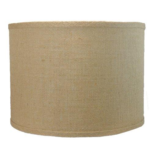 "Urbanest Burlap Drum Style Lamp Shade 14""x14""x10"" Lampshade"