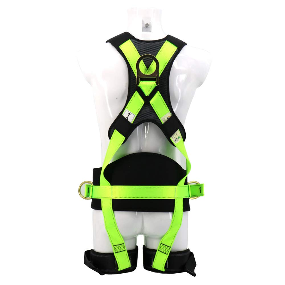 Safety Fall Protection Harness high Altitude Anti-Falling Sling Outdoor Expansion Climbing Rock Climbing Polyester Belt by HENRYY (Image #2)