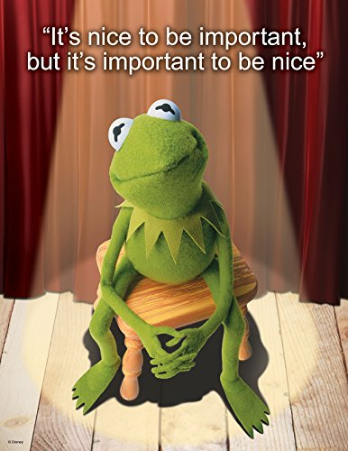 "Eureka Muppets, It's Nice to Be 17""x22"" Posters (837220)"