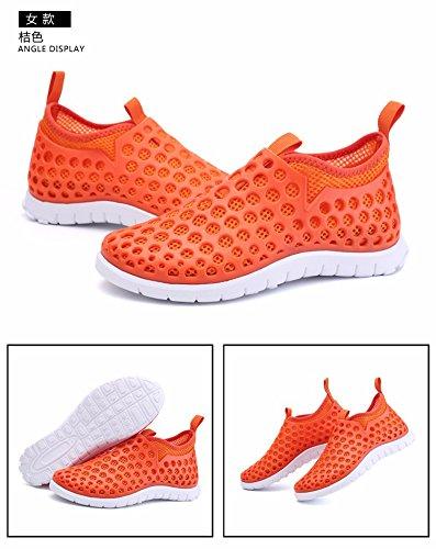 Buco scarpa Uomini Il nuovo Spiaggia scarpa Uomini Tempo libero sandali estate sandali Uomini scarpa Superficie della maglia scarpa Uomini ,giallo,US=9,UK=8.5,EU=42 2/3,CN=44