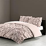 N Natori Jolee Queen Comforter Mini Set Khaki Full/Queen