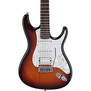 mitchell td400 double cutaway electric guitar level 1 3 color sunburst white. Black Bedroom Furniture Sets. Home Design Ideas