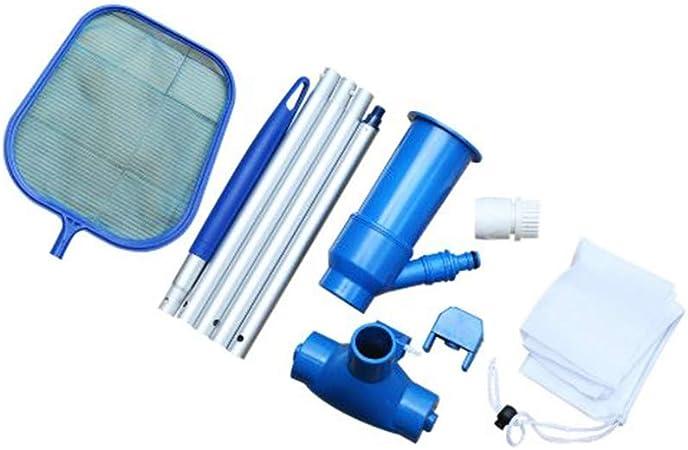 Kit de limpieza de piscina, aspirador de chorro de piscina, para limpieza de piscina, removible, kit de mantenimiento para piscina y estanques: Amazon.es: Hogar